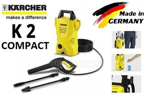 review may rua xe karcher k2 compact