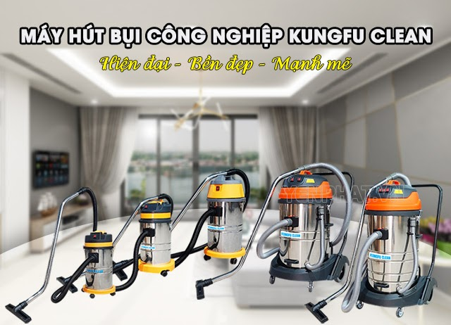 Máy hút bụi đa năng Kungfu Clean