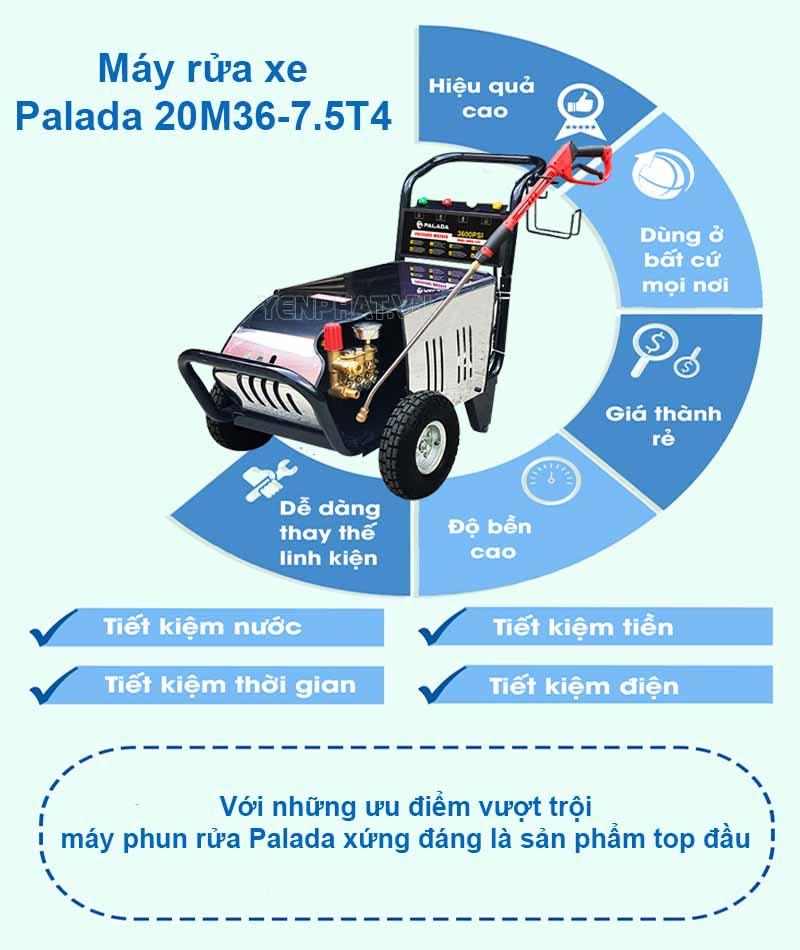 giá máy rửa xe palada