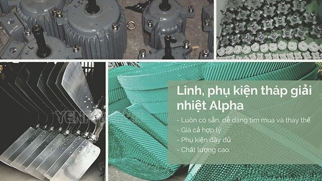 linh kiện tháp giải nhiệt alpha