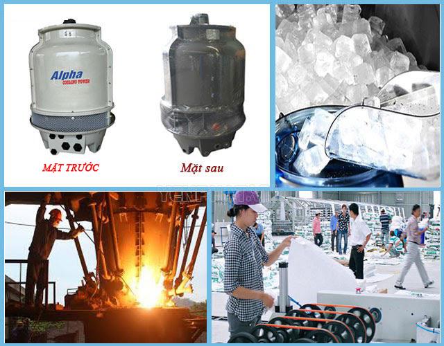 ứng dụng tháp giải nhiệt nước alpha