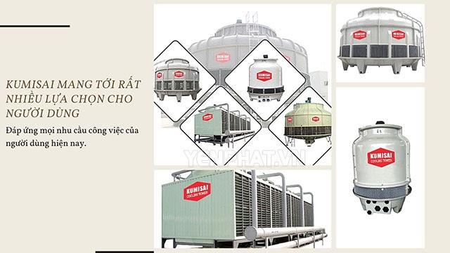 tháp giải nhiệt công nghiệp kumisai