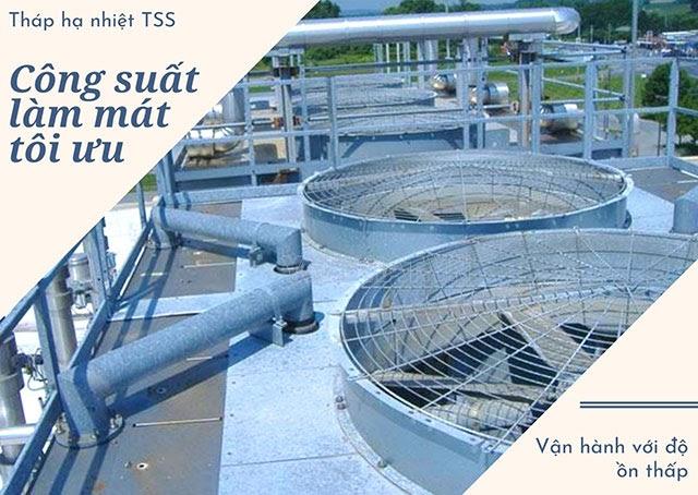 tháp giải nhiệt công nghiệp TSS