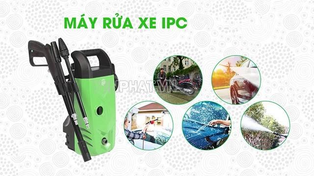 Máy rửa xe gia đình IPC được ưu ái vì có hiệu suất cao