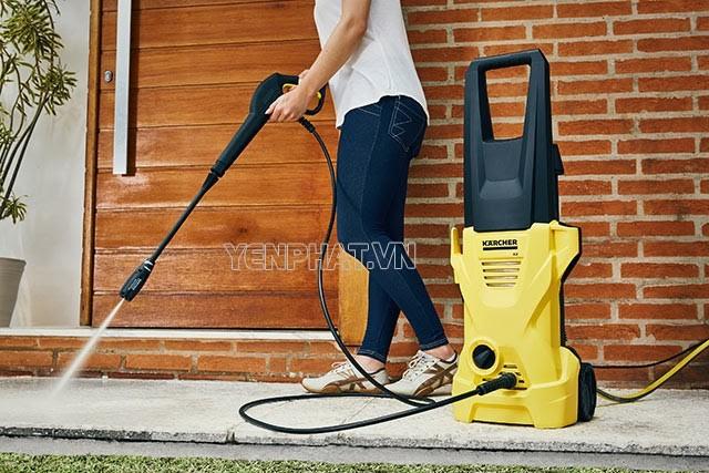 Thương hiệu máy rửa xe gia đình Karcher