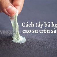 Top 10 cách tẩy kẹo cao su trên sàn nhà đơn giản, siêu hiệu quả